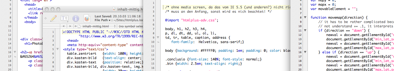 Projects: Web (KOENIGE Webdesign, Graphics & Databases)